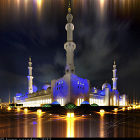 Sheikh Zayed Grand Mosque by Beno Saradzic (BenoSaradzic)) on 500px.com