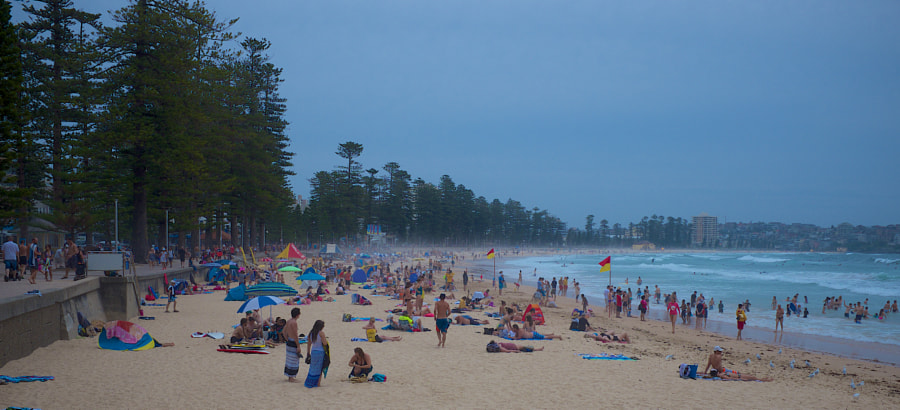 Photograph Manly Beach, summer by Mal Booth on 500px