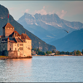 Château Chillon by Jan Geerk (Jan_Geerk)) on 500px.com