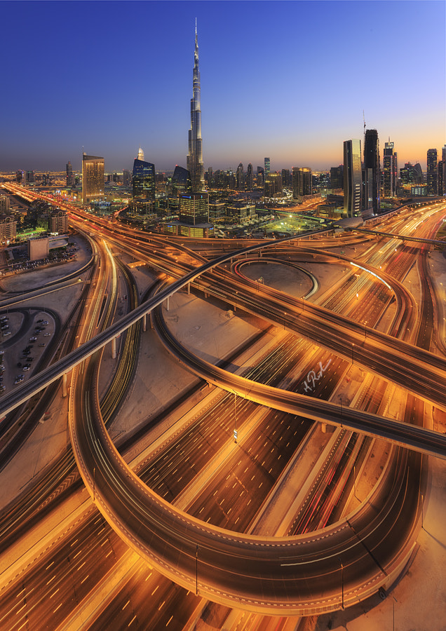 burj Khalifah Interchange by Rustam Azmi on 500px.com
