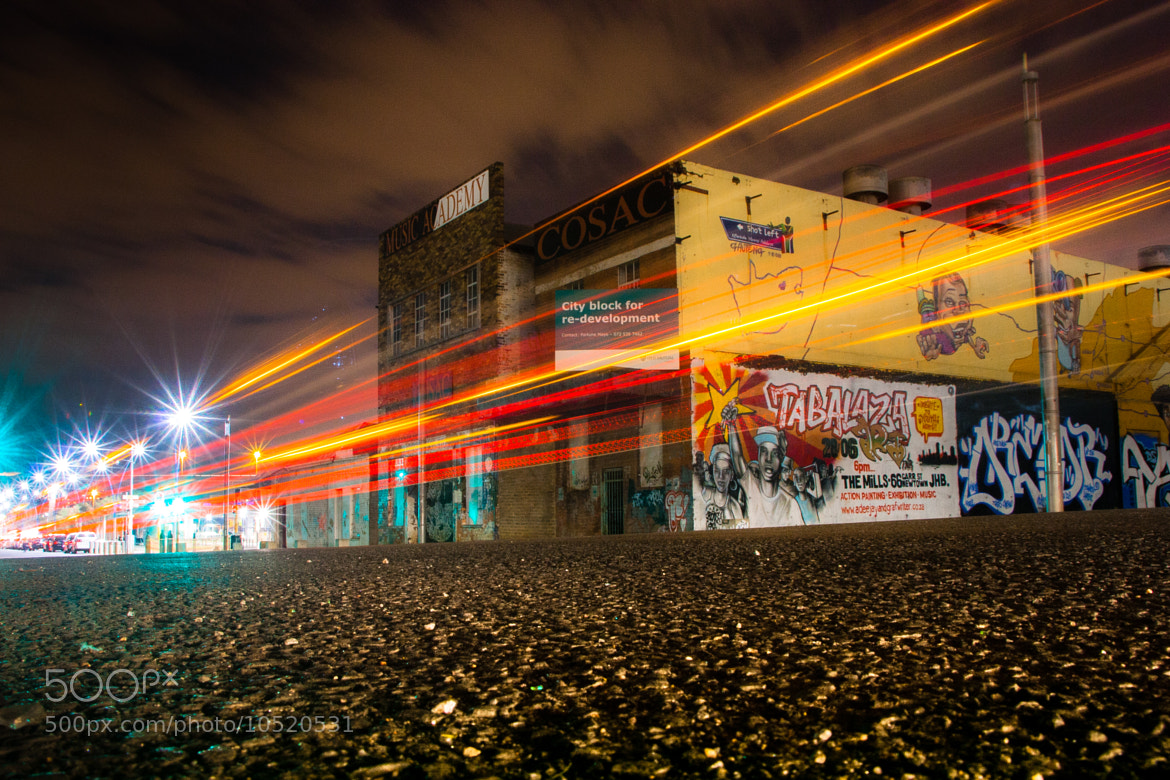 Photograph Street Lights by Khumbelo Makungo on 500px