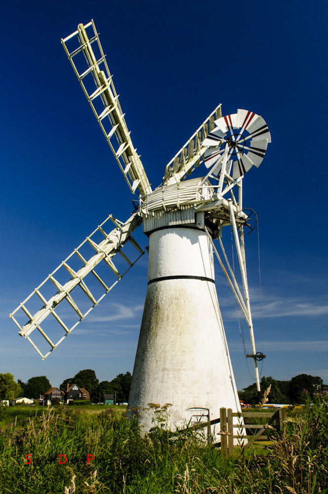 Photograph Thurne Wind Pump by Stefen Dicks on 500px