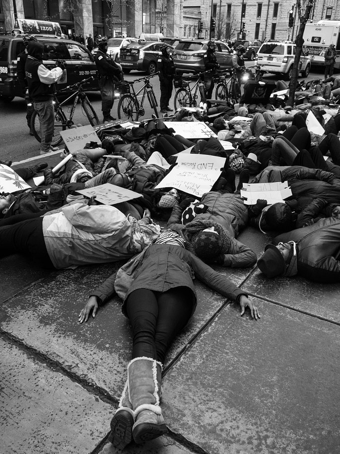 Black Lives Matter protest / die-in by Thomas Wray on 500px.com