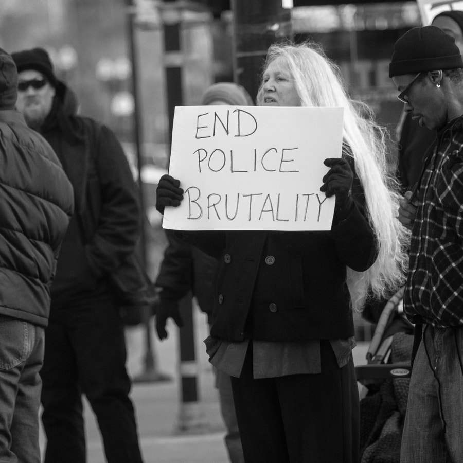 Black Lives Matter protest / Uptown by Thomas Wray on 500px.com