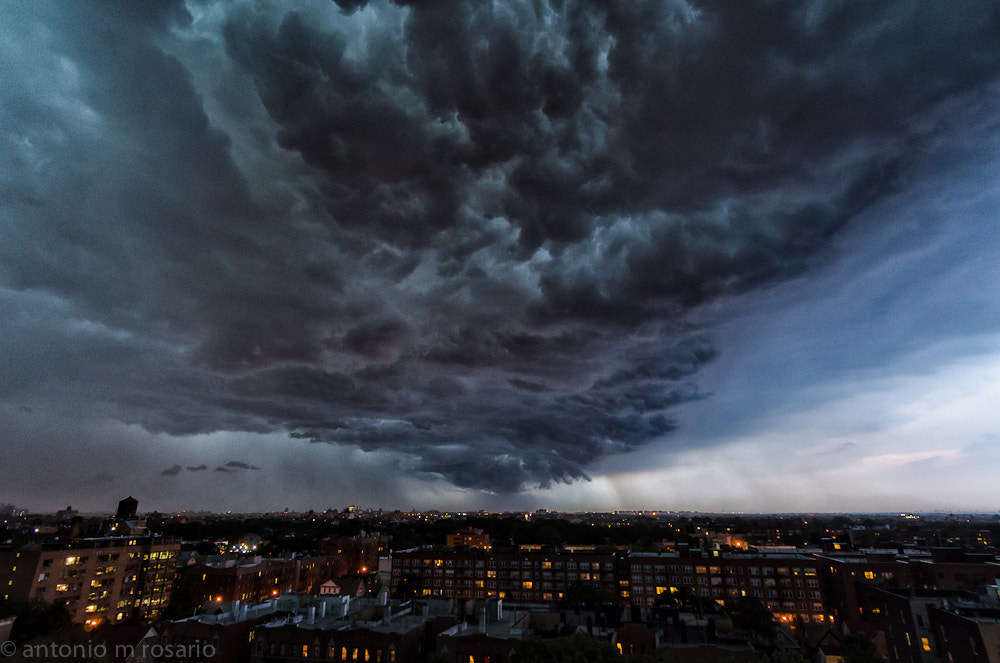 Photograph More of Tonight's Storm by Antonio M. Rosario on 500px