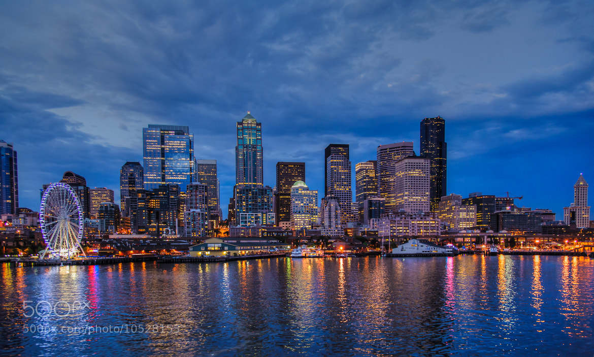 Photograph Seattle Lights by Dave Skaar on 500px