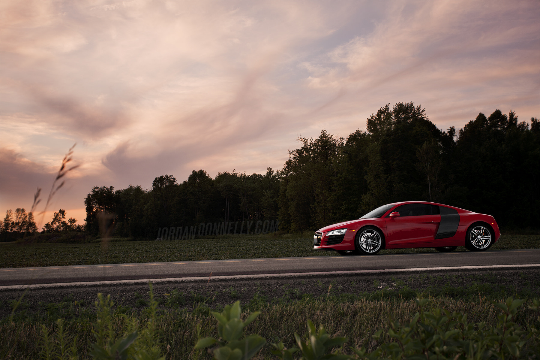 Photograph R8 Sunset.  by Jordan Donnelly on 500px