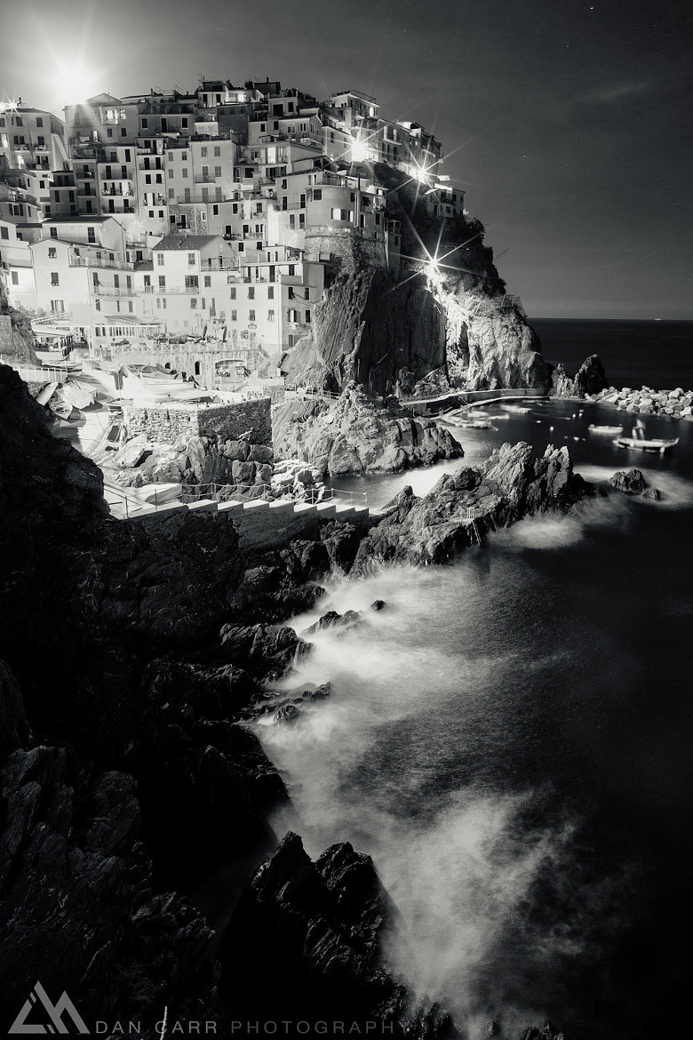 Photograph Moonrise in Manarola by Dan Carr on 500px