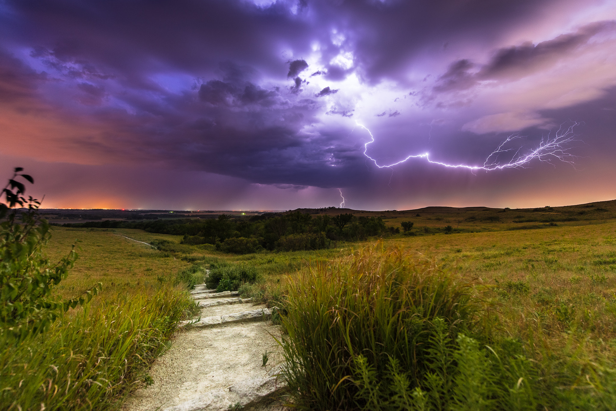 Photograph Thunder on the Konza by Joe Geske on 500px
