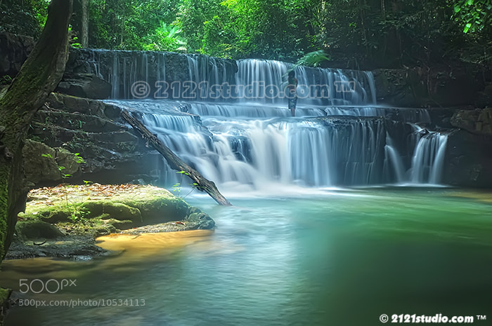 Photograph Air Terjun Batu Tangga by dR ali Shamsul Bahar on 500px
