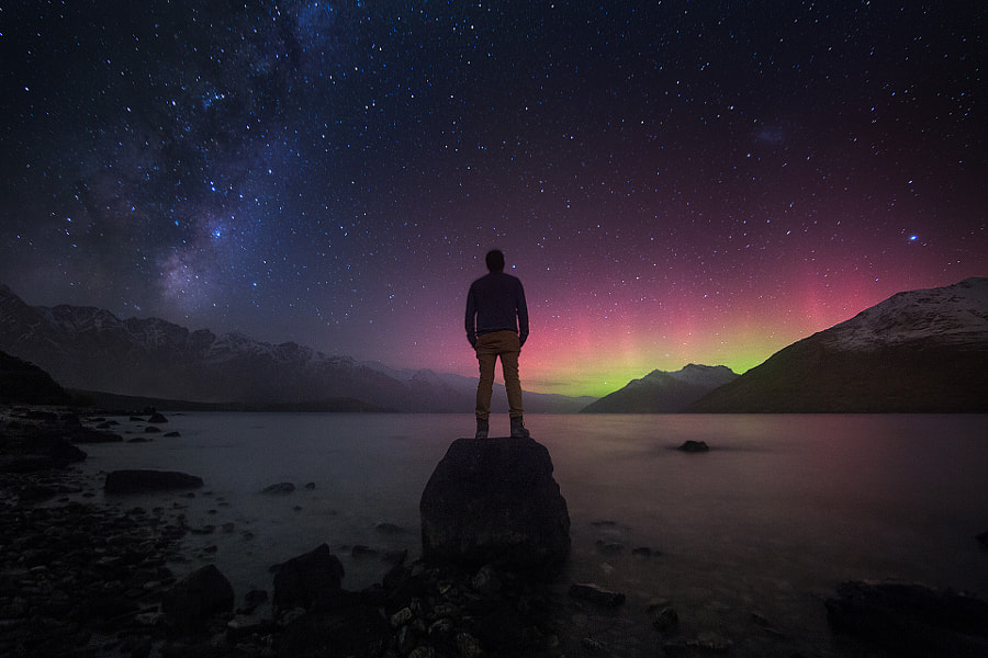 Photograph The Universe and Me by Jesse Summers on 500px