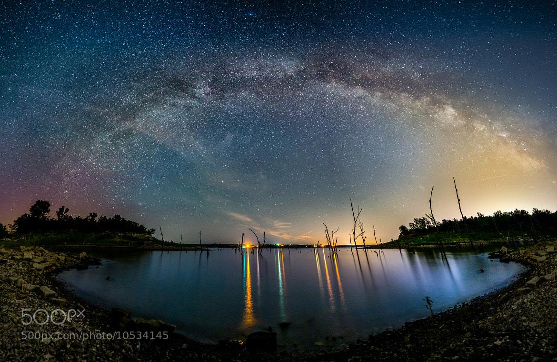 Photograph Milky Way Rainbow! by Joe Geske on 500px