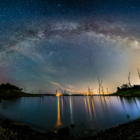 Milky Way Rainbow! by Joe Geske (joergeske)) on 500px.com