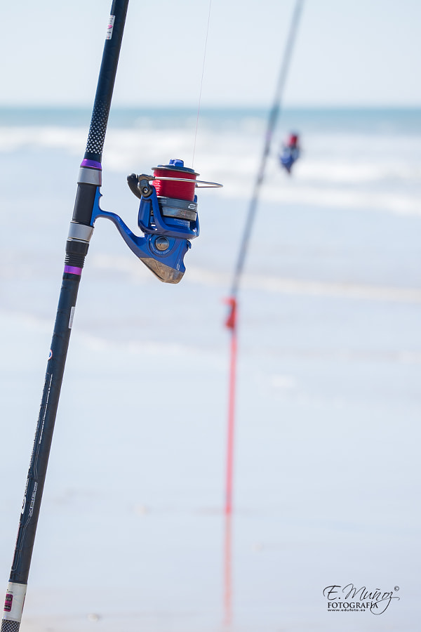 Photograph Fishing rod by Eduardo Muñoz on 500px
