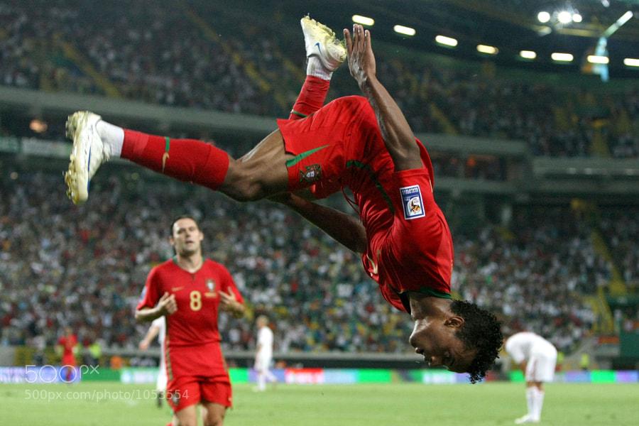 Nani Portugal vs Dinamarca foto Paulo Calado