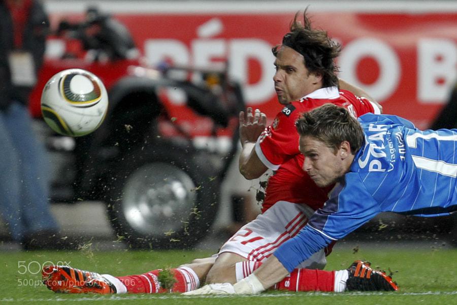 Golo de Nuno Gomes, Benfica vs Naval, Campeonato Nacional da Liga Zon Sagres, 11