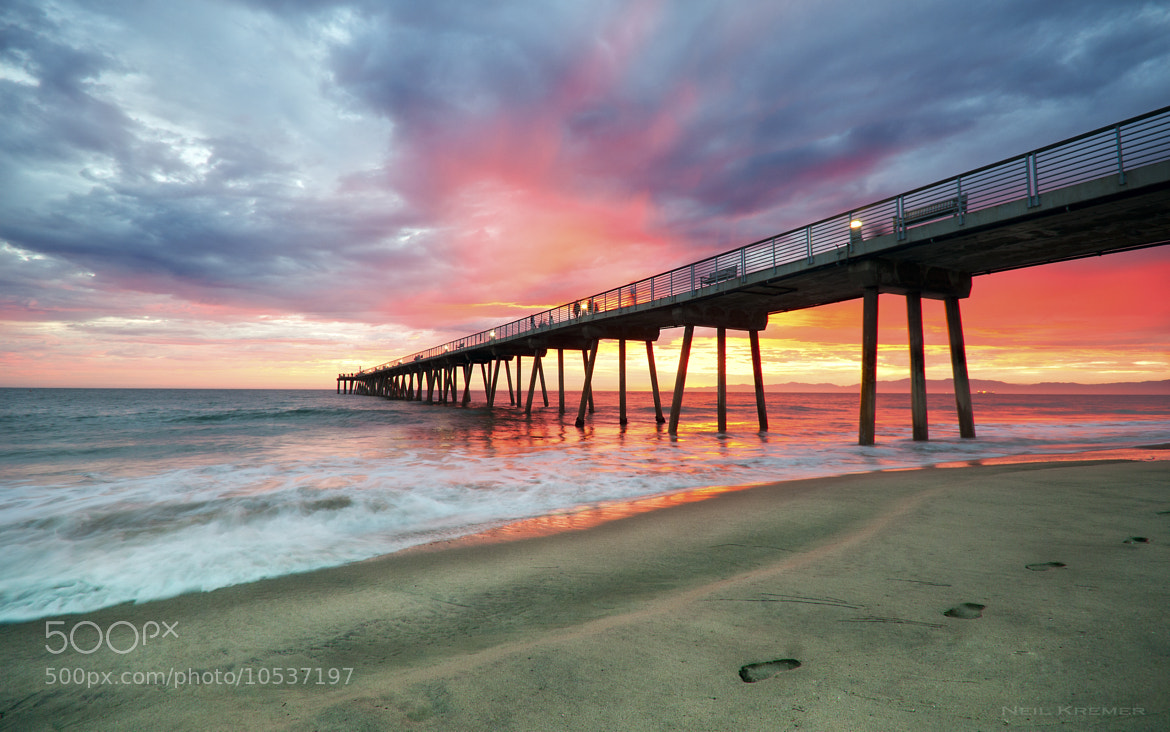Photograph Hermosa Dusk by Neil Kremer on 500px