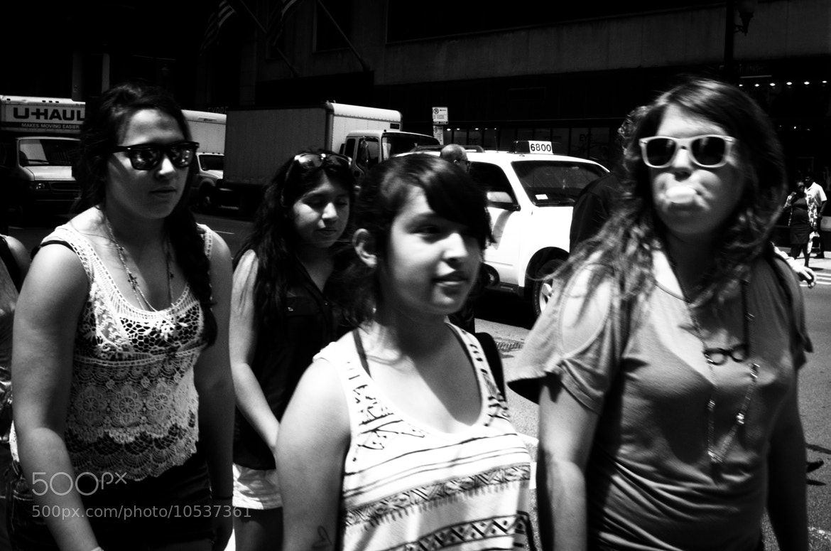 Photograph Four Girls by Manuel Isai on 500px