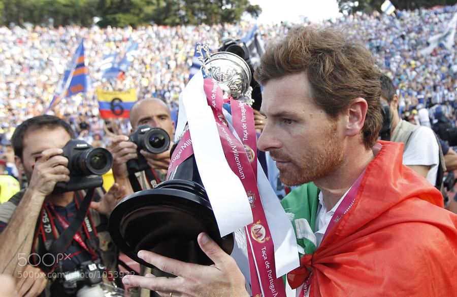 Andre Villas Boas, Guimaraes vs Porto, Final Taca de Portugal, 22 de Maio de 2011, Estadio Nacional, Lisboa, Foto Paulo Calado
