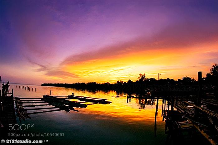 Photograph Afterglow @ Parit Jawa by Ali Shamsul Bahar on 500px