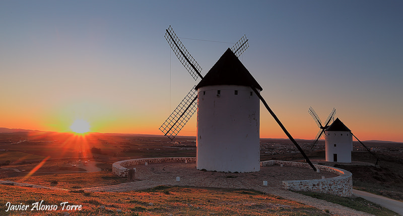 Photograph Don Quijote sunset by Javier Alonso Torre on 500px