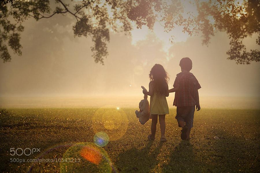 Photograph sunny morning by taufik sudjatnika on 500px