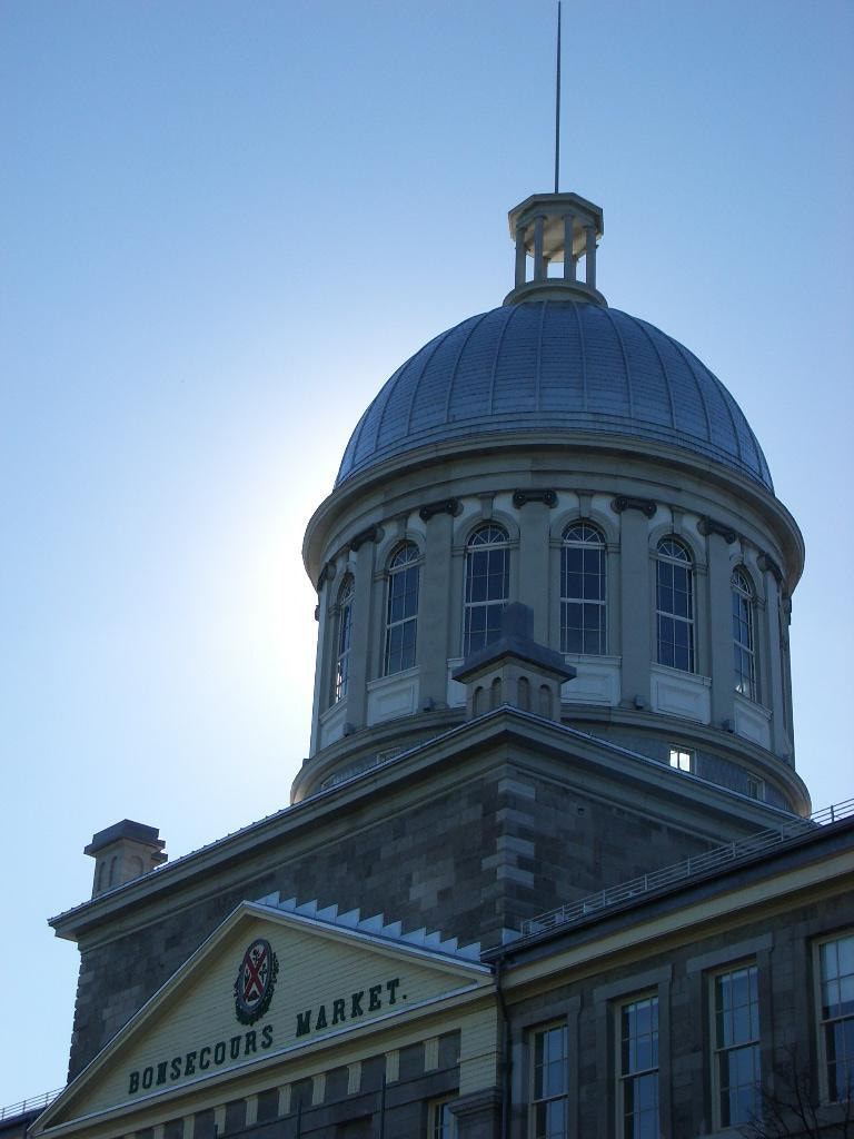 Photograph Bonsecours Market by Stephen Butler on 500px