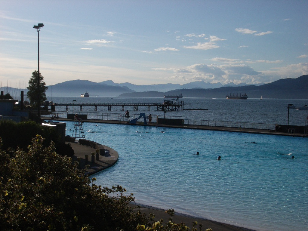 Photograph Kitsilano pool by Stephen Butler on 500px