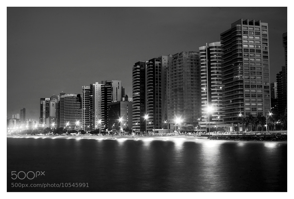 Photograph Fortaleza at night, Brasil by FeFoPhotography  on 500px