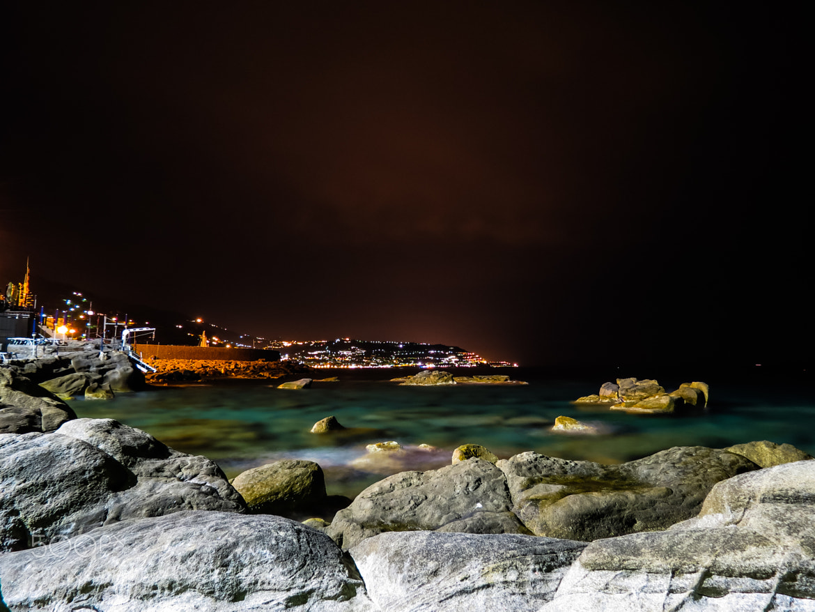 Photograph Night in Bordighera by Luca Fiori on 500px