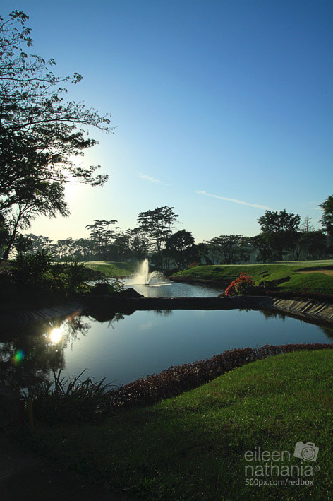 Photograph Taman Dayu Golf View by Eileen Nathania on 500px