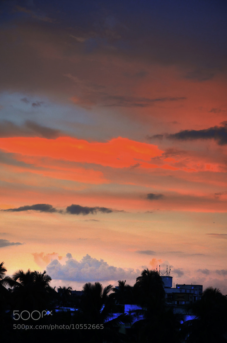 Photograph Colorful Sunset!! by Palash K on 500px