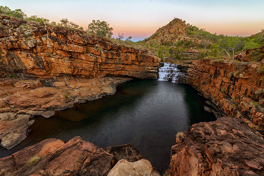 Photograph Falls at Bell Gorge by Ray Gruchy on 500px