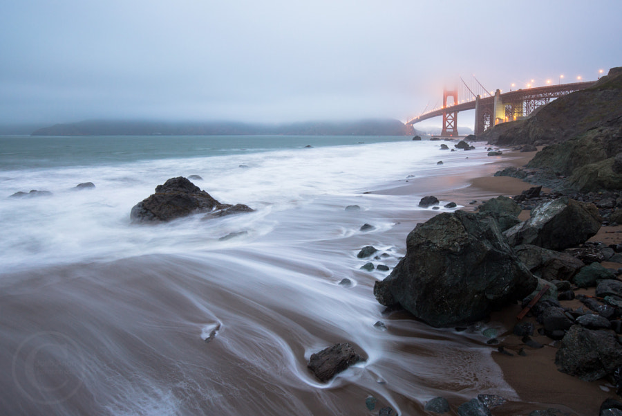 The Tide and the Fog Roll In by Josh Anon on 500px.com