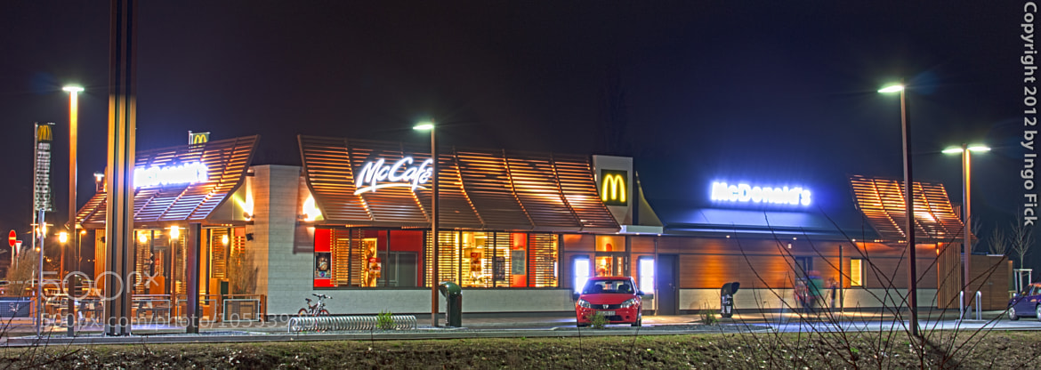 Photograph McDonalds at Night by Ingo F. on 500px