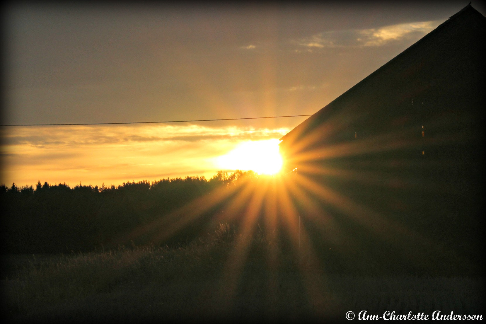 Photograph Sunset, Midsummer 2012 by Ann-Charlotte Andersson on 500px