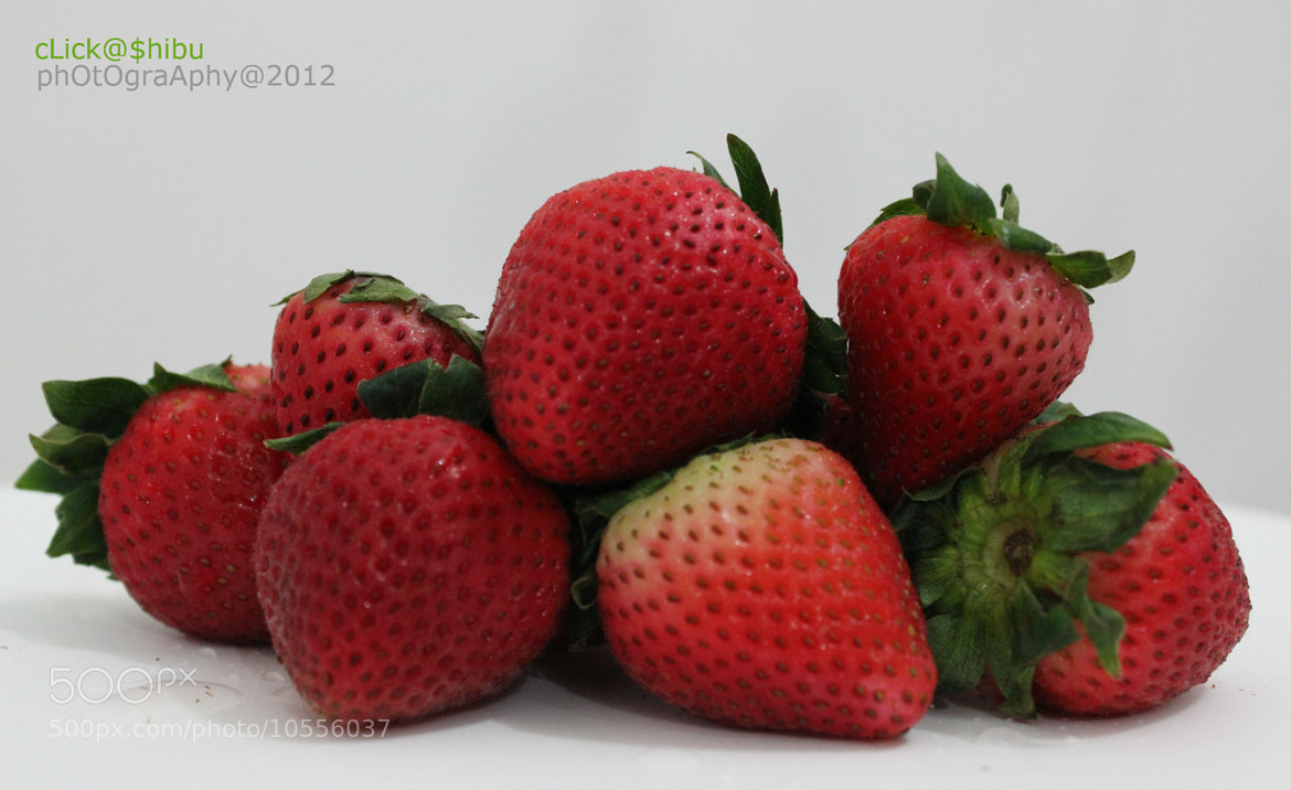 Photograph step view of strawberries by shibu hasan on 500px