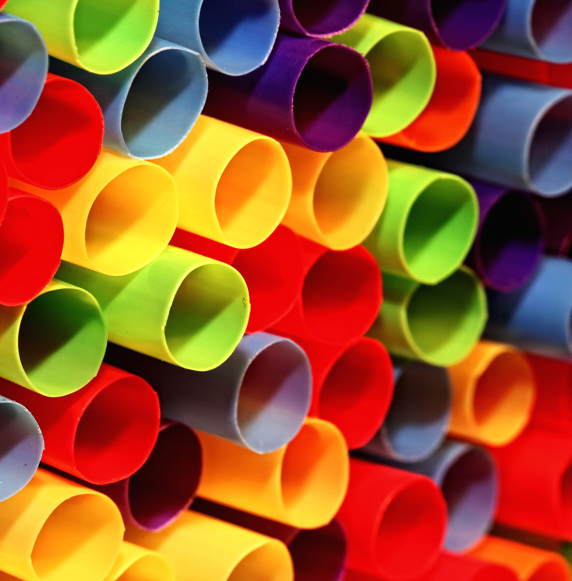 Photograph Straws by Cris T on 500px