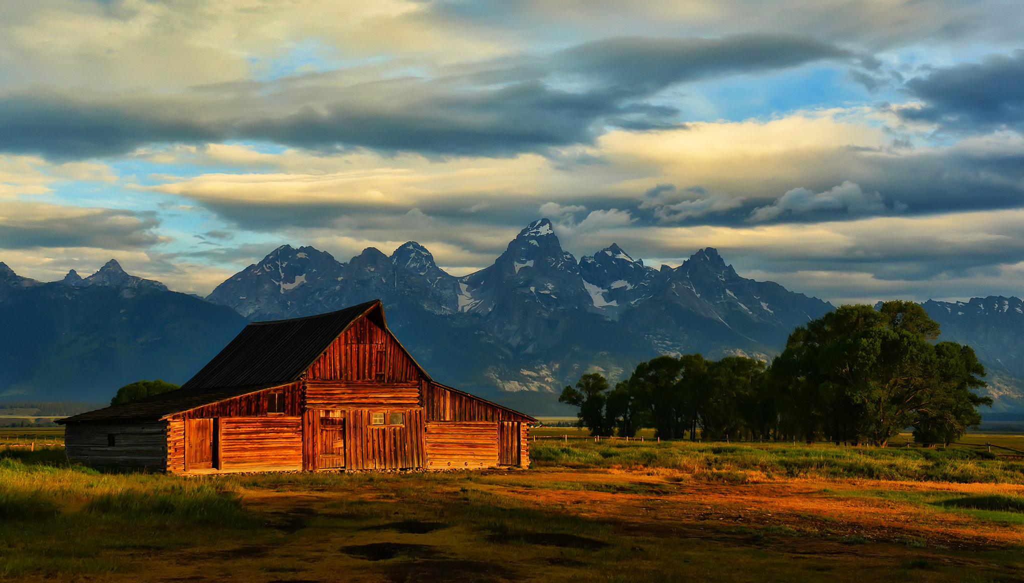 Photograph Bolt of Light at the Barn by Jeff Clow on 500px