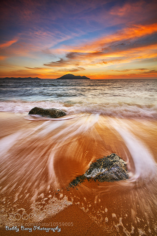 Photograph Sunset @Kura-Kura Beach by Bobby Bong on 500px