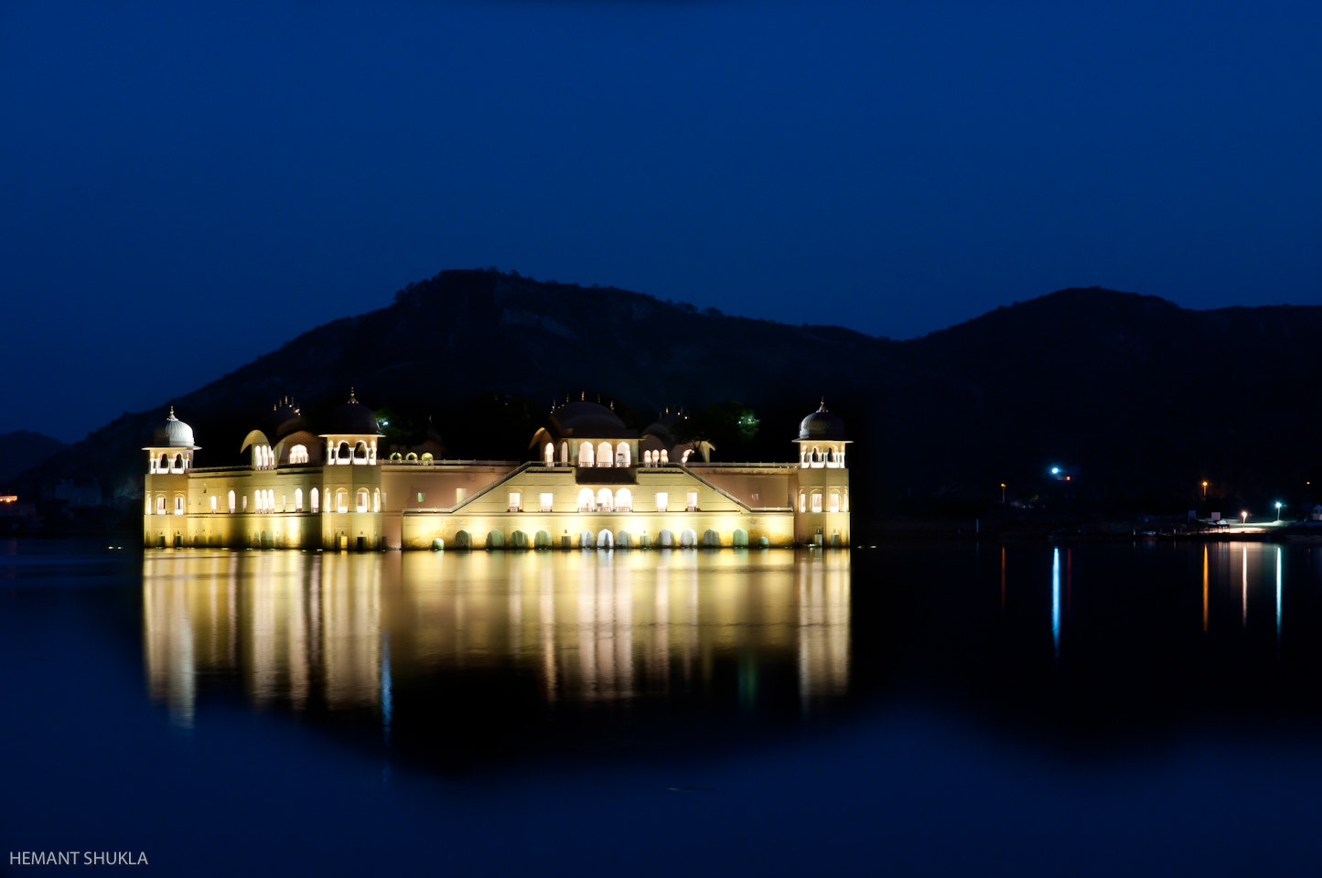 Photograph Jal Mahal by Hemant Shukla on 500px