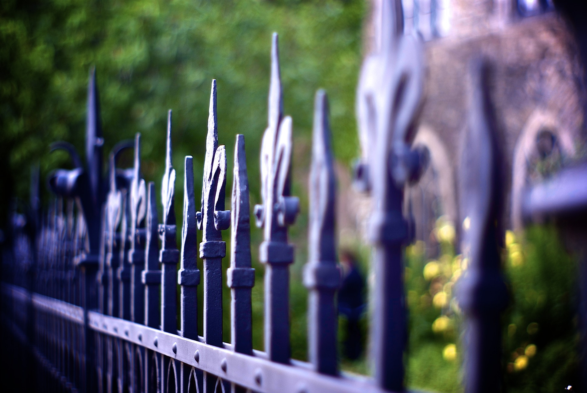 Photograph Iron fence by Noah Flurin on 500px