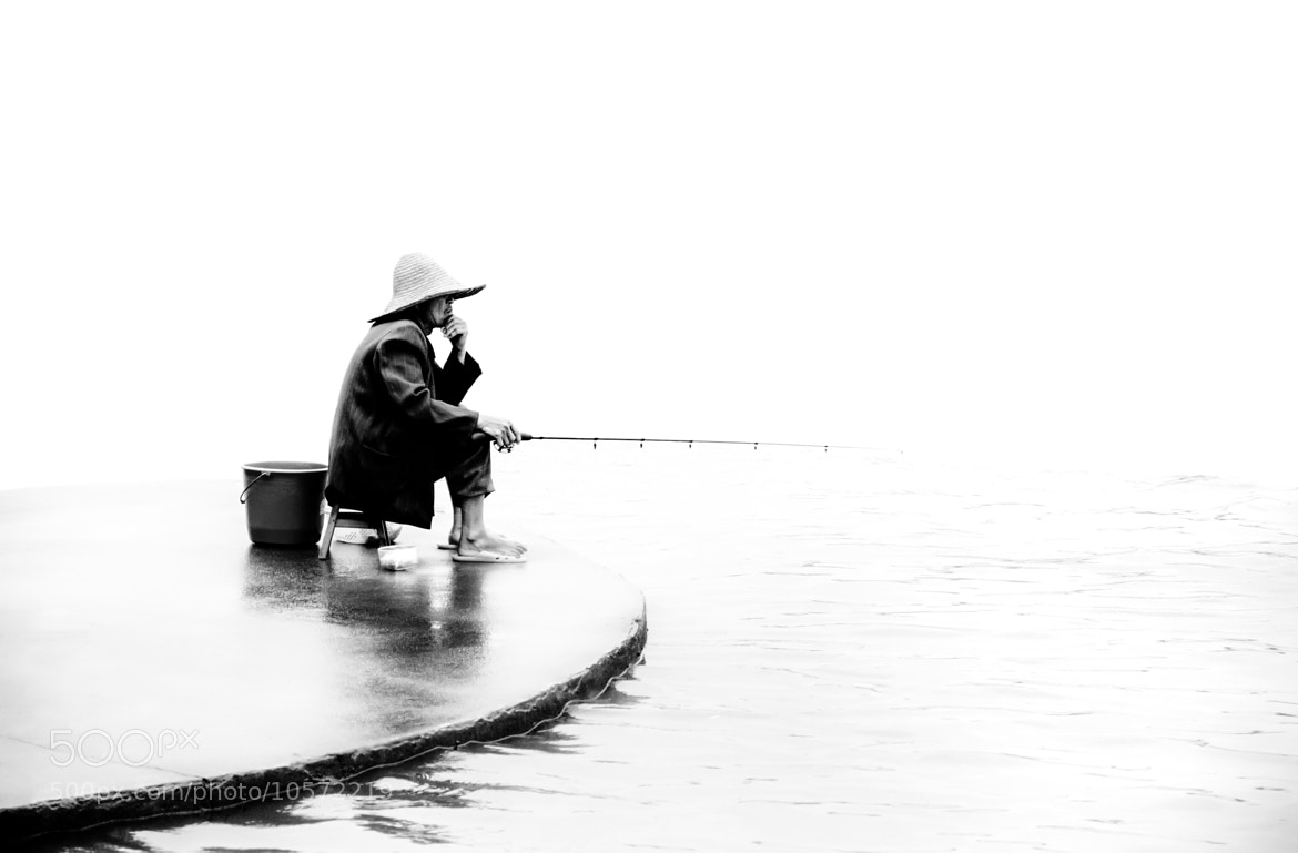 Photograph Le pêcheur by Fab William Alexander on 500px