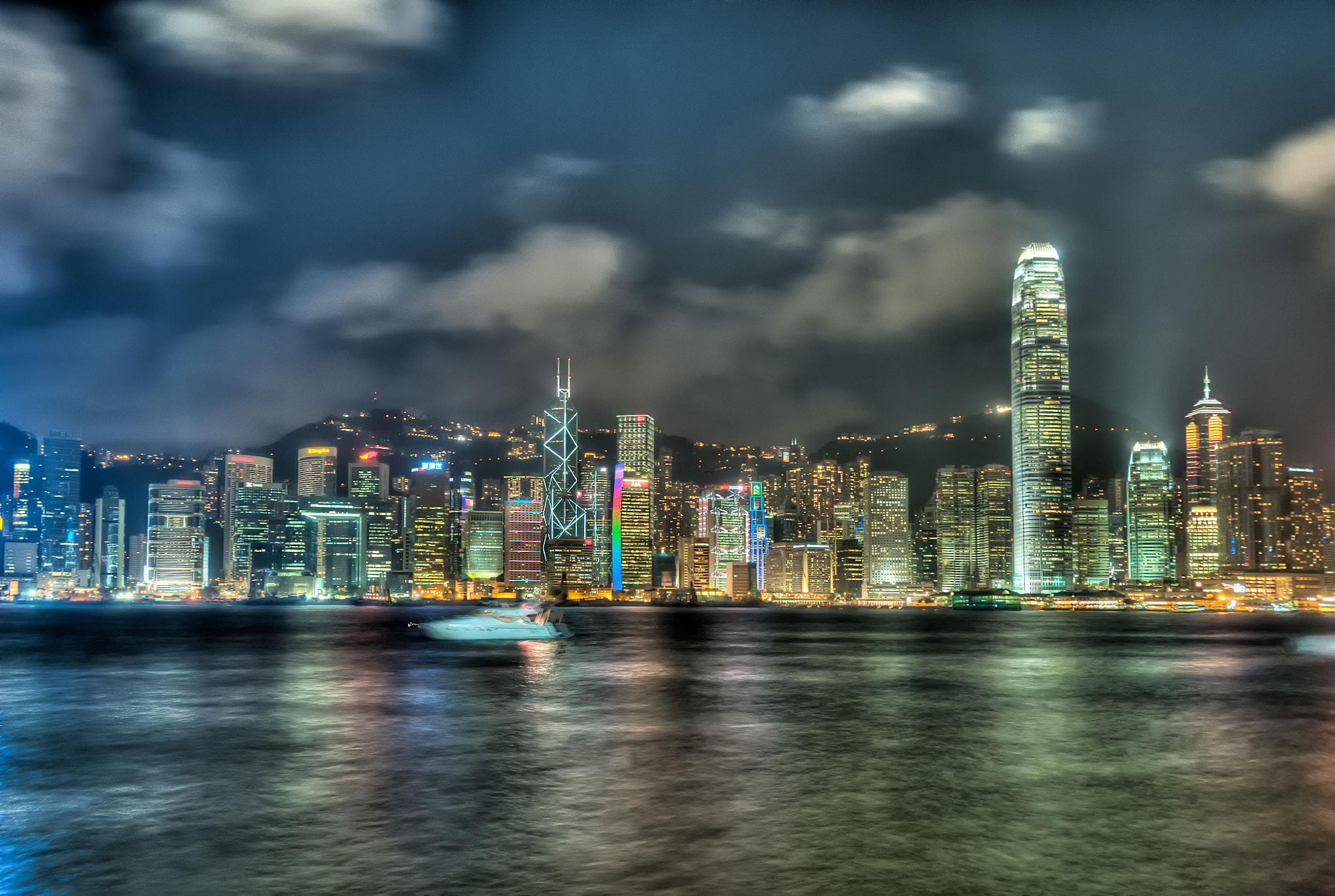 Photograph Hong Kong Victoria Harbour by Andy Chui on 500px