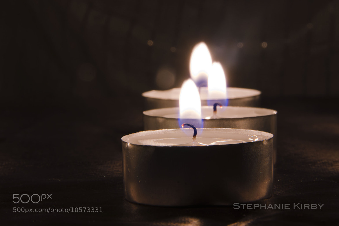 Photograph Candel Light by Stephanie Kirby on 500px