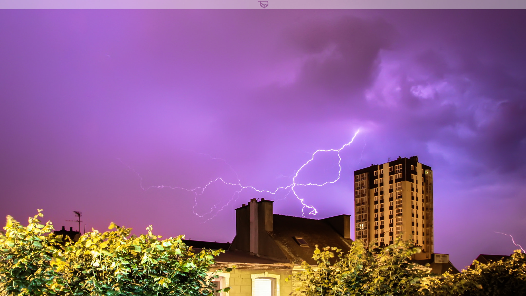 Photograph | Cherbourg under lightning | by Thomas MARIE on 500px