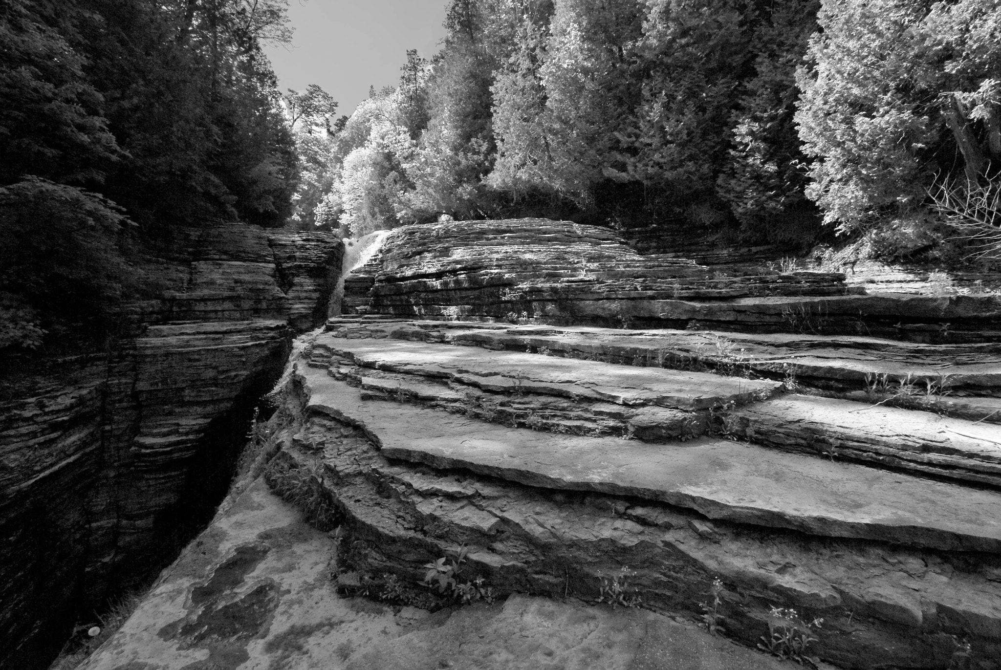 Photograph Whittaker Falls (Upper Falls Erosion) by Meagan Muncy on 500px