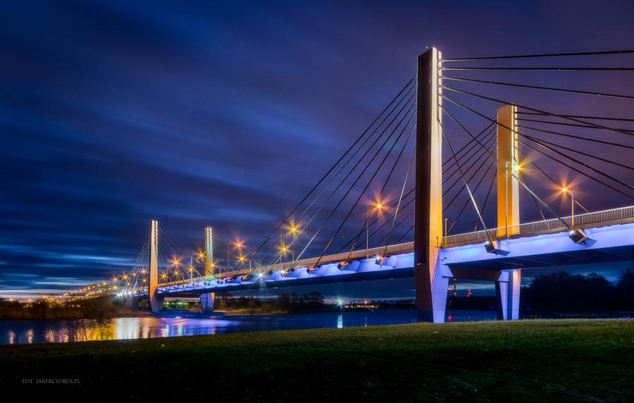 Millenium Bridge in Wroclaw