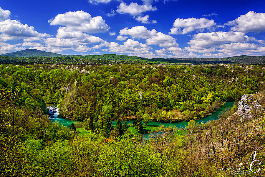 When you see river Mrežnica going through the hills of Kordun area in spring attire you realize that 'heaven on Earth' is not just some overused cliche