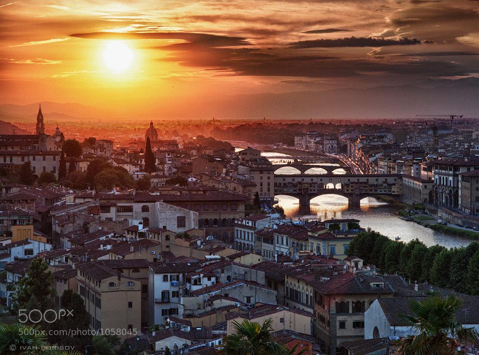 Photograph Firenze sunset by Ivan Borisov on 500px